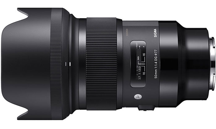 Sigma 50mm F 1 4 Dg Hsm Art Lens For Sony E Sony Full
